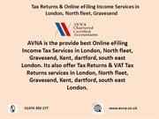 Tax Returns & Online eFiling Income Services in London, kent, gravesen