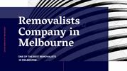Removalists Company in Melbourne