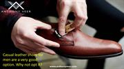 Casual Leather Shoes For Men | Casual Leather Shoes | Anthony Veer