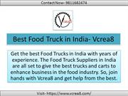 Get your business on roads with a food truck