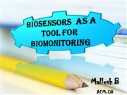 BIOSENSORS and  BIO MONITORING