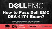 Dell EMC DEA-41T1 Exam Question and Answers