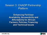 Intro Session 3 ARoy Presentation CAADP PP