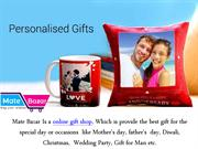 Where can I order personalized online gifts in India?
