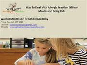 Child care Covina, CA - HOW TO DEAL WITH ALLERGIC REACTION OF YOUR