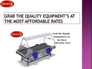 Grab the Quality Equipment's at the Most AffordableRates