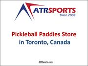 Pickleball Paddles Store in Toronto, Mississauga Canada - ATR Sports