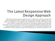 The Latest Responsive Web Design Approach