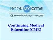Continuing Medical Education(CME)-CME Booking|BookMyCME