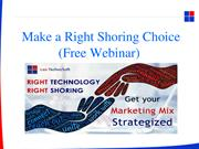 Make a Right Shoring Choice