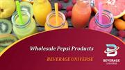 Wholesale pepsi products