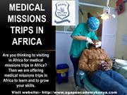 Go to Medical Missions Trips in Africa