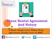 5 things every rent agreement should cover in 2020 (original)