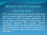 What is the IVF process step by step