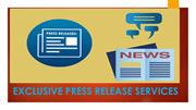 Exclusive Press Release Services