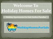 Holiday Apartments For Sale Surfers Paradise