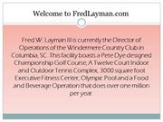Fred Layman Business Information