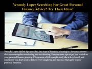 Yerandy Lopez Searching For Great Personal Finance Advice Try These Id