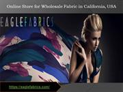 Eagle Fabrics - Online Fabric Store California