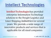 Shipping Software | Cargo Software | Intellect Technologies PPT