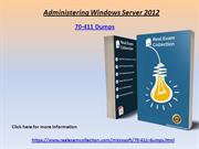 Valid microsoft  70-411 Exam Dumps - Latest  70-411 Questions Answers