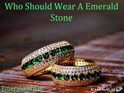 Who Should Wear A Emerald Stone