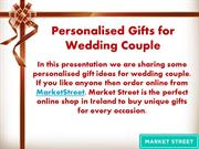 Personalised Gifts for Wedding Couple