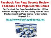 How To Make A Fan Page On Facebook