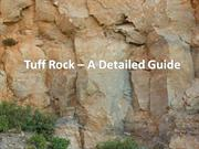Tuff Rock – A Detailed Guide