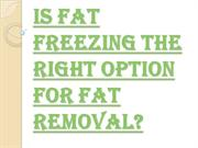 What is Fat Freezing Course Procedure?