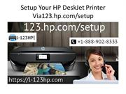 Setup Your HP DeskJet Printer Via 123.hp.com/setup