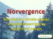 Norvergence - Reaction on climate change and global warming by majorit