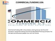 Equipment Leasing Company in USA- Commercial Funding USA