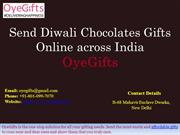 Send Diwali Chocolates Gifts Online across India - OyeGifts