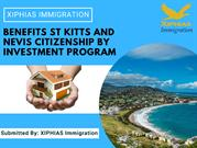 Benefits St Kitts and Nevis Citizenship by Investment program