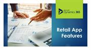 Best 4 features and retail Business Solutions using dynamics 365