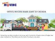 Office moving made easy in Canada