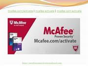 mcafee com activate PPT 11