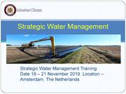 Strategic Water Management(PPT)