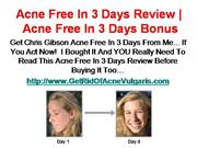 Natural Acne Scar Treatment - Get Rid Of