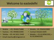 E waste collection in Delhi
