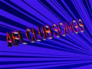 AFL club song lyrics