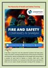 Health and Safety training courses in Dubai