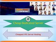 Cheap Dedicated Server and VPS Hosting Services 2