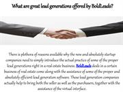 What are great lead generations offered by BoldLeads?