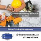 Contractor Screening Services in USA