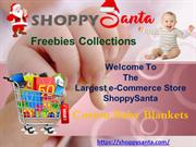 Buy Cotton Baby Blankets at ShoppySanta