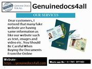 Marriage Certificate Online Fake,Genuine Driver's License for Sale