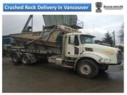 Crushed Rock Delivery in Vancouver