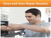 Stove and Oven Repair Houston
